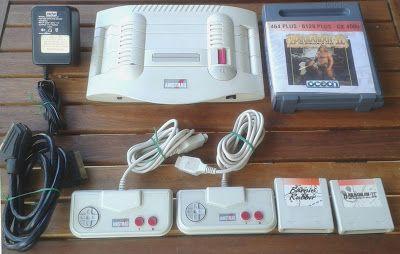 """Retro Ordenadores Orty: Consola GX4000, consola de la serie """"Plus"""" de Amst..."""