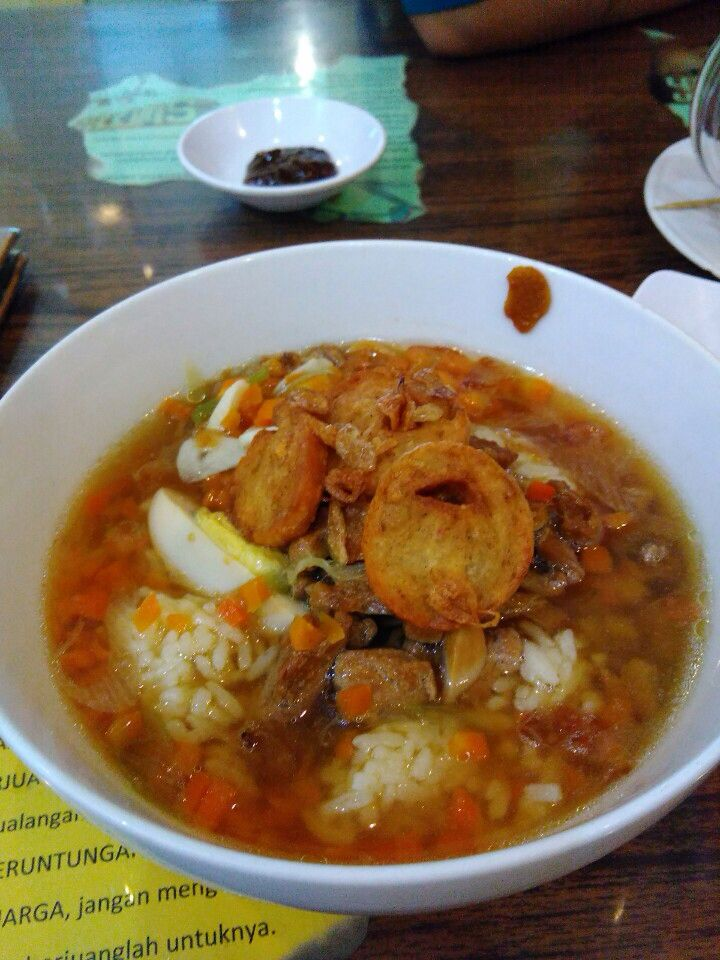 Nasi Bakmoy Ayam (Chicken Bakmoy soup with Rice) my Favourite