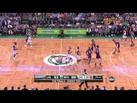 KOBE BRYANT: 17 pts in 6 mins vs. Boston Celtics (2010 NBA Finals Game 5) - YouTube
