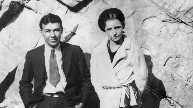 A real Bonnie & Clyde photo.