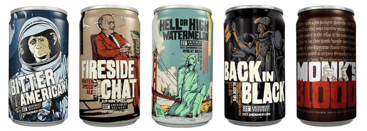 Design Tips With 8 of the Best Looking Craft Beer Brands image 21stamendment2