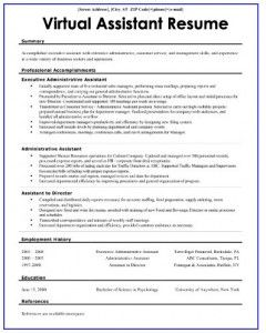virtualassistant the 3 essentials of a killer virtual assistant resume