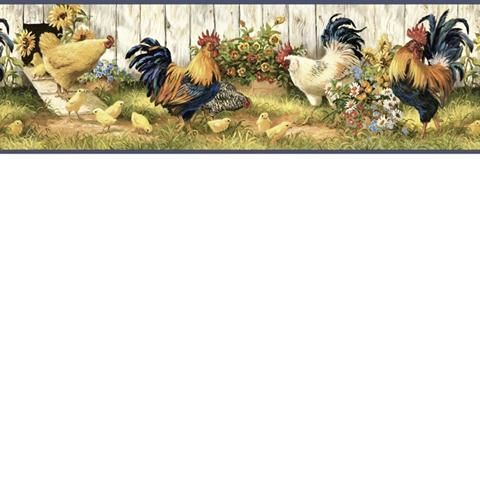 Hen House Border - FFR24511B from Family & Friends 3 book