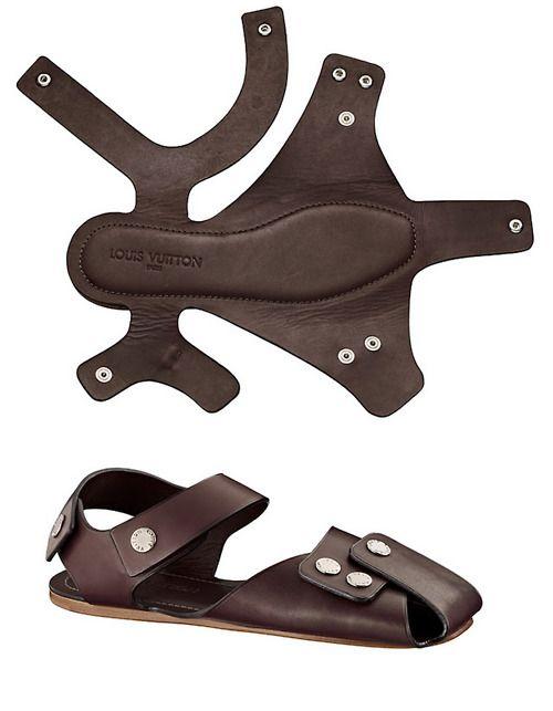 Sandals from Essos Louis Vuitton
