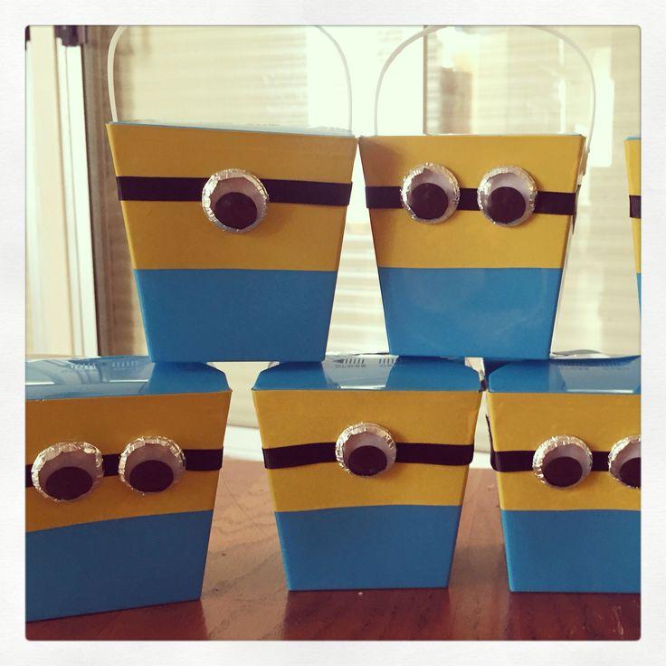 Minion party boxes