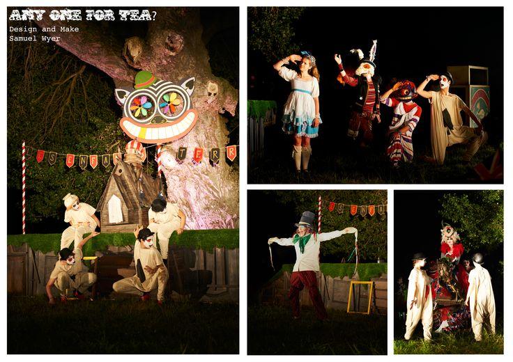 Anyone for tea? / Alice's Adventures in Wonderland Les Enfants Terribles  Designer Samuel Wyer