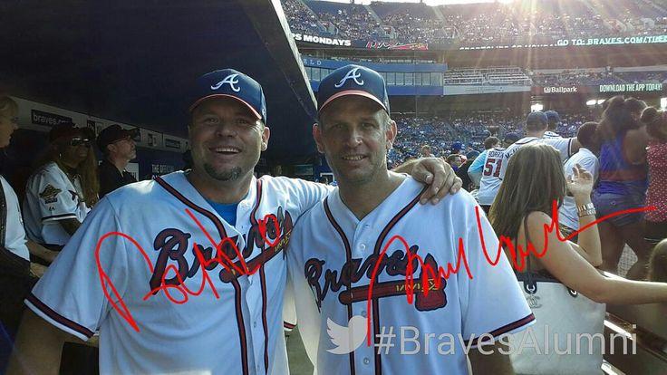 Ryan Klesko and Mark Wohlers