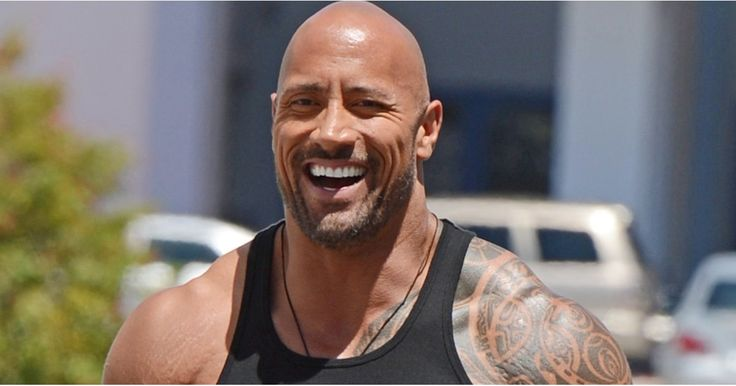 20 Times Dwayne Johnson's Rock-Hard Muscles Almost Broke Open His Shirt