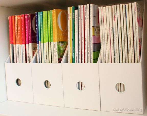 magazine organization | Arianna Belle The blog