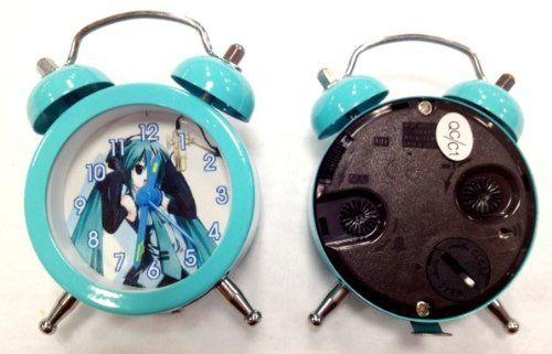 """Miku Hatsune Mini Alarm Clock - 3 Tall by Miku Hatsune. $6.20. Miku Hatsune Mini Alarm Clock - 3"""" Tall"""