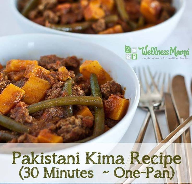 Pakistani Kima is a one-pan dinner recipe that is packed with nutrients. It is healthier, easier, cheaper and FASTER than fast food!
