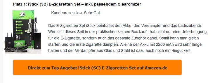 E-Zigarette Shop - kaufe die besten