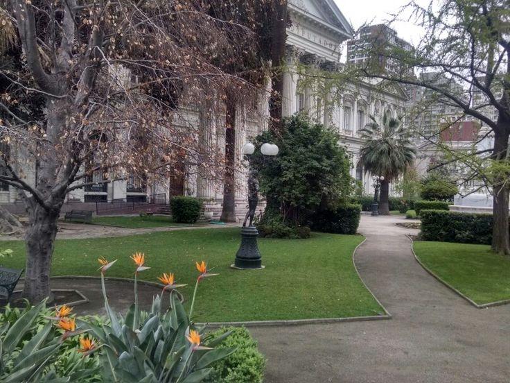 Jardín ex congreso nacional santiago
