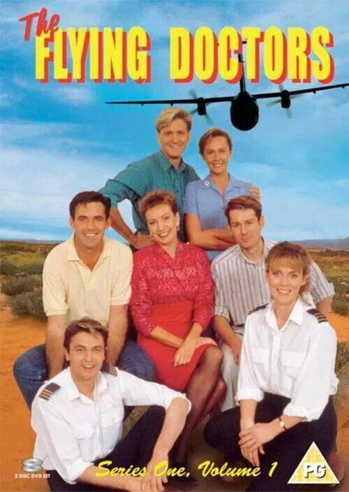 Flying docters. Een serie uit Australie... Ja ja vaste prik op zaterdag (geloof ik) daar bleven we voor thuis.