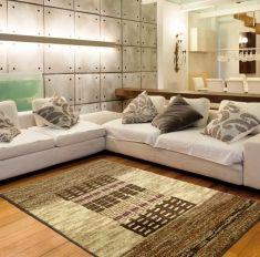 Alfombras modernas de lana modelo fora alfombrando for Alfombras de sala modernas