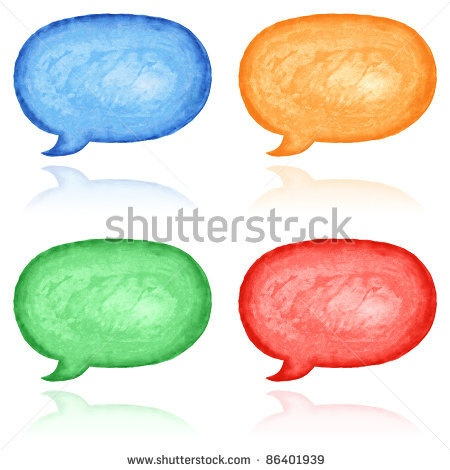 All my aquarelle drawings http://www.shutterstock.com/sets/16601-watercolor-painting.html?rid=498844 — Blank watercolor speech bubble dialog shape. Variation color with reflection on white background — Keywords: balloon blue brush button cerulean chat clean clear cobalt cyan ellipse emblem empty green icon ink magenta message orange orb oval paintbrush painting pictogram red sign sketch symbol talk template text watercolour — #Royalty #free #stock #photo #illustration for $0.28 per download