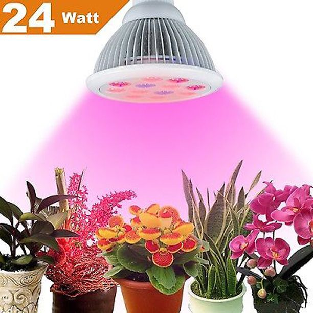Luxury W Miracle LED Grow Light Bulb With LED Lights Lower Power