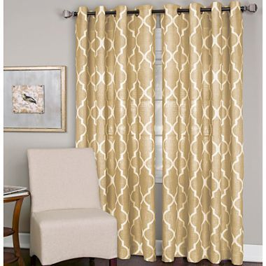 Elrene Medalia Grommet Top Curtain Panel Jcpenney Curtains Pinterest Home 108 And Colors