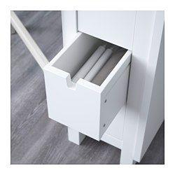 IKEA - NORDEN, ゲートレッグテーブル, カトラリーやナプキンなどの収納に便利な引き出し6個付き2~4人用。ドロップリーフ2枚付き。必要に応じてテーブルのサイズを変えられます