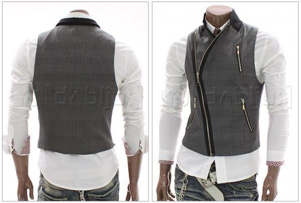Fashion Vest Marcel (Black) - Rockdenim - $599nok
