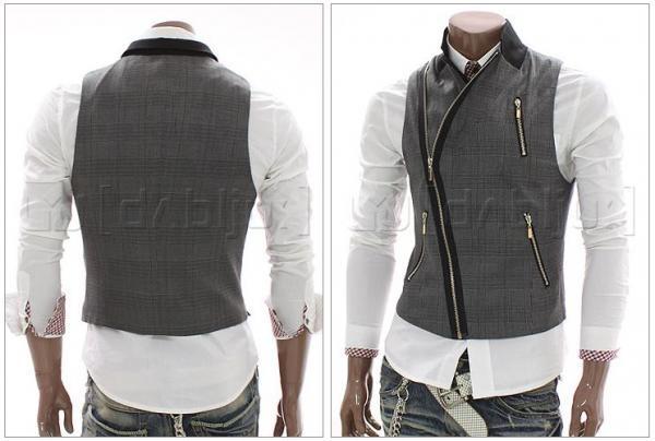 Fashion Vest Marcel (Black) - Rockdenim - $599nok