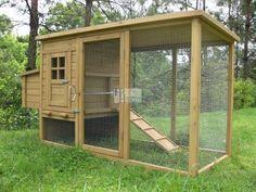 Hühnerstall selber bauen: Bauanleitungen für Hühnerställe bei heimwerker.de