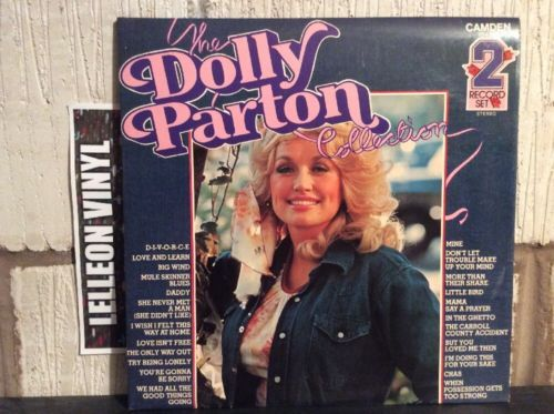 The Dolly Parton Collection Double LP Album Vinyl PDA053 Country & Western 70's Music:Records:Albums/ LPs:Country