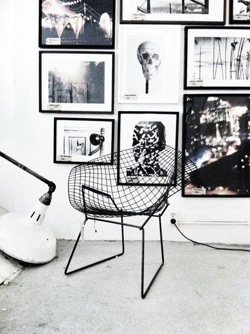 #veronikamaine #blackandwhite #inspiration #summer13 #interiors