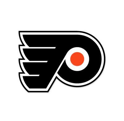 "Philadelphia Flyers NHL car bumper sticker decal (5"" x 4"")"