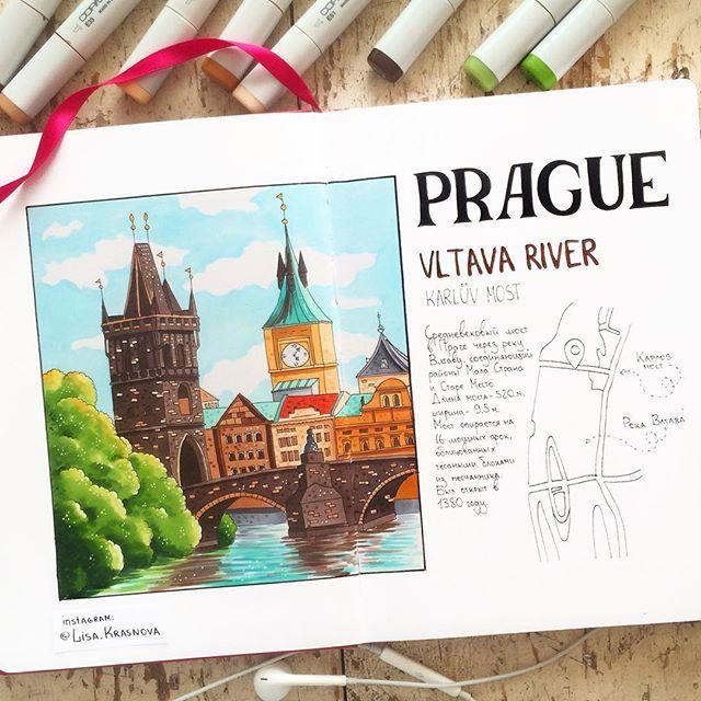 #Prague На нашем скетч-пленэре в Праге мы пройдёмся по улочкам города, зарисуем уникальные домовые знаки и обязательно заглянем на Карлов Мост. Ведь какая Прага без Карлова моста?  Присоединяйтесь!  Узнать полную программу, задать любые вопросы и записаться можно у @vip_prague по адресу papretskite@gmail.com.