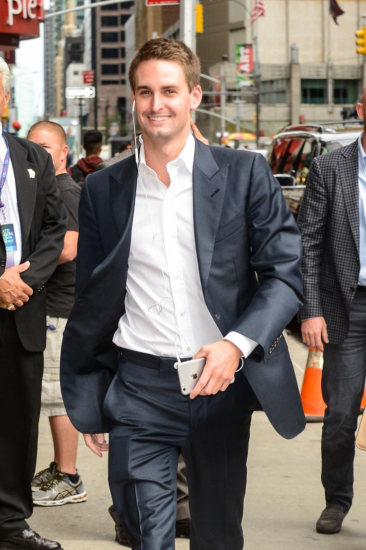 Evan Spiegel, Founder and CEO of Snapchat
