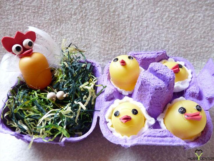 Kreatív ötletek: Húsvét - Húsvéti fészek    http://www.hobbycenter.hu/Unnepek/kreativ-oetletek-husvet-husveti-feszek.html