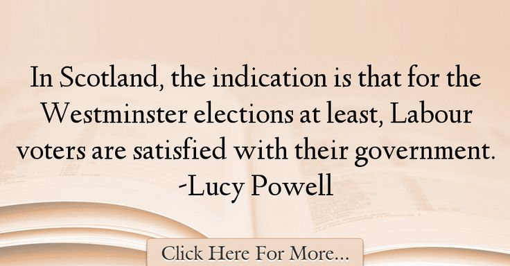 Lucy Powell Quotes About Government - 30707