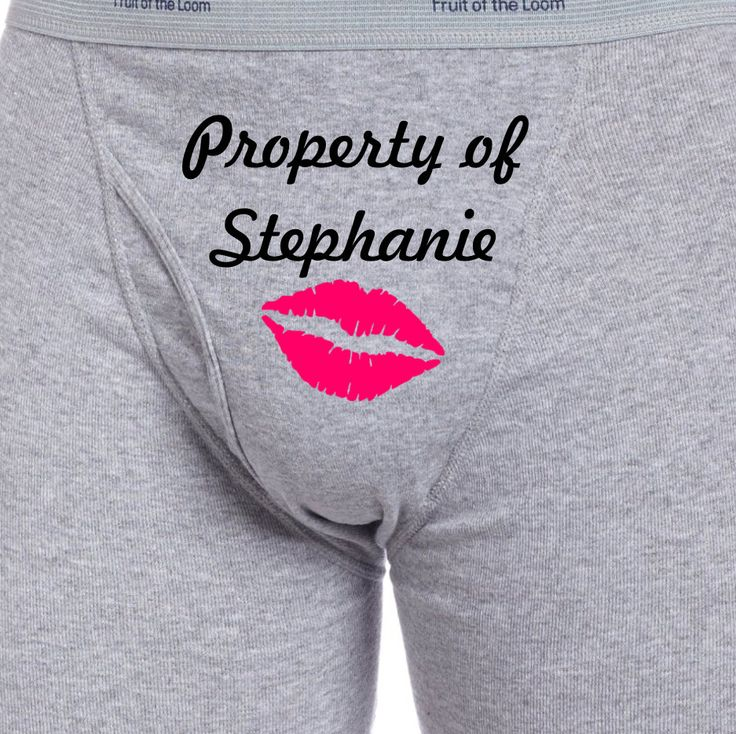 Property of Lips Boxer Briefs by SexyDelights on Etsy, $20.00