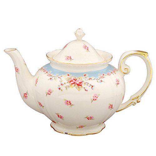 Gracie China Vintage Blue Rose Porcelain 5-Cup Teapot Gracie China by Coastline Imports http://www.amazon.com/dp/B00ESU80W8/ref=cm_sw_r_pi_dp_Kb6Nub0DZ1HPD
