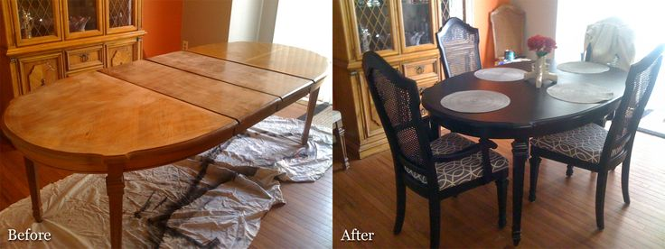 17 best ideas about refurbished dining tables on pinterest