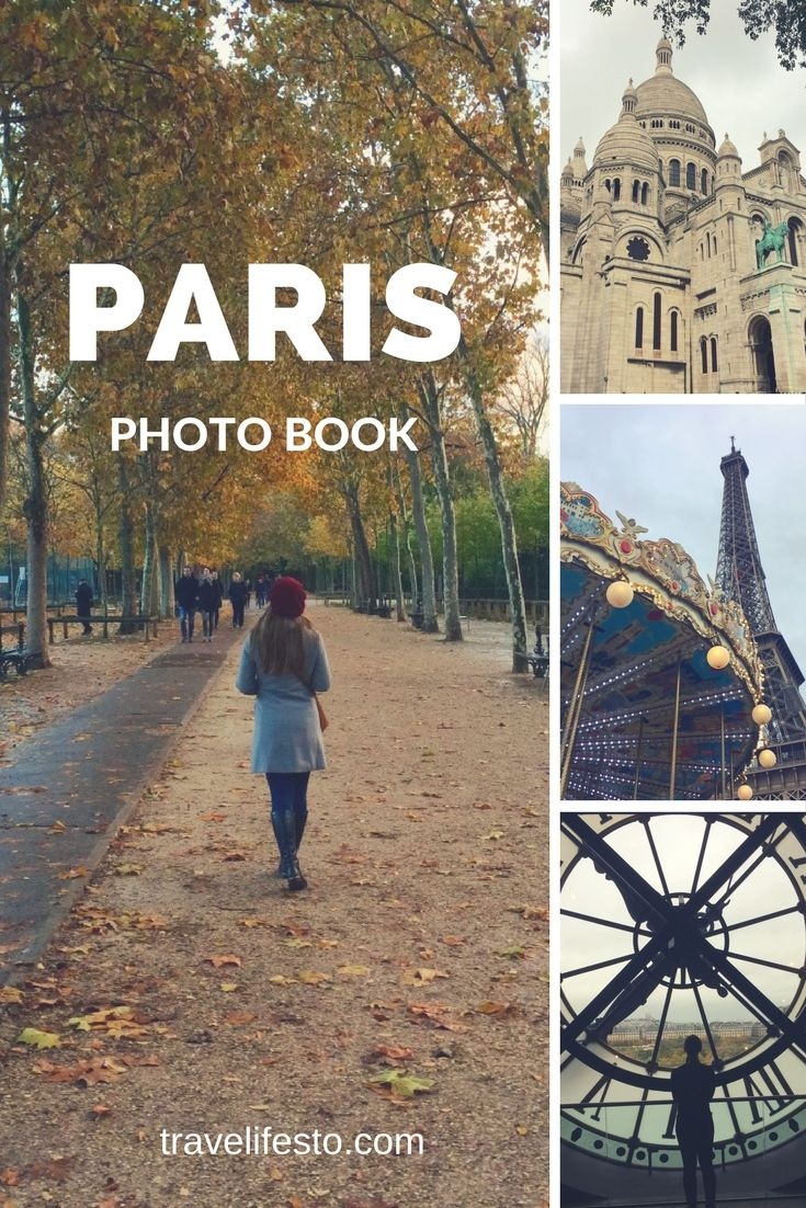 A Paris guide through pictures - perfect for inspiration! Check out my Paris photo book here: