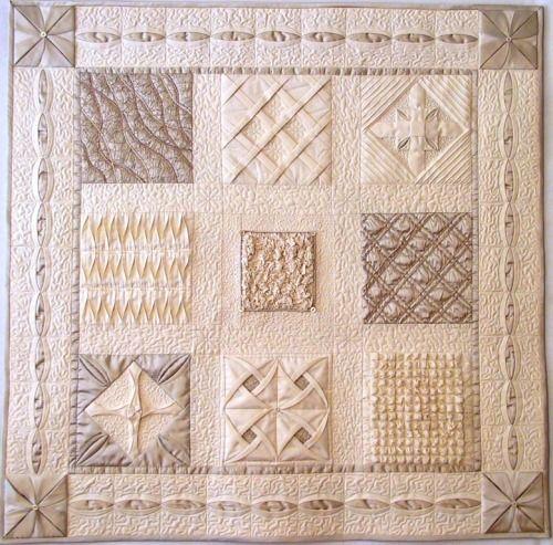 createcreatively: Fabric Manipulations by Karen Turckes at Windberry Studio