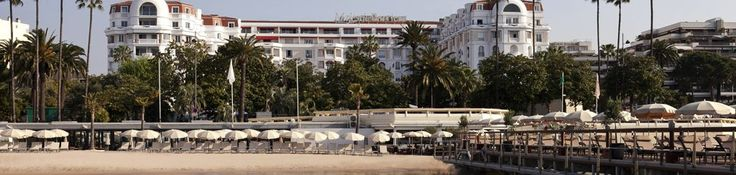 Hôtel de Charme Majestic Barrière, Hôtel de Luxe Cannes -  An incredible site for learning everything about luxury hotels and the French art of welcoming on this site: www.laurentdelpor...