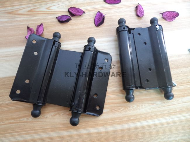 1 pair 4inch Double Acting Spring Hinge Cafe / Saloon Swinging Door-in Door Hinges from Home Improvement on Aliexpress.com