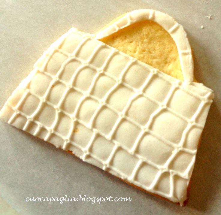 white cookie bag
