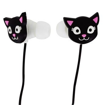 Kulaklık Swing Siyah Kedi