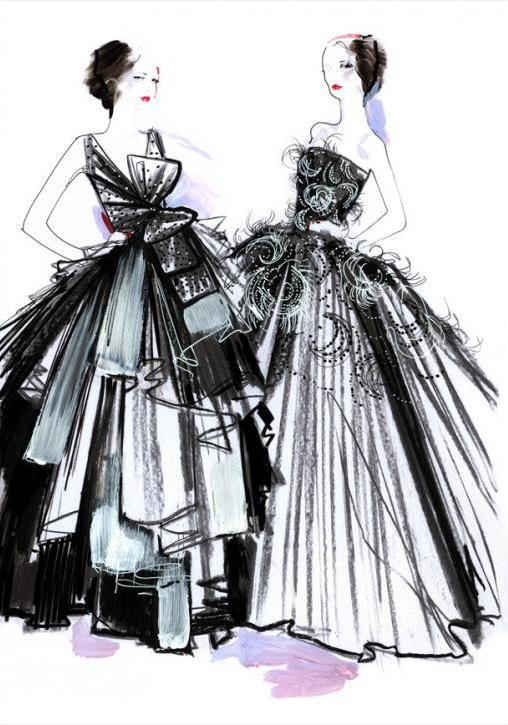 Les 14 meilleures images du tableau Dessins de mode sur ...