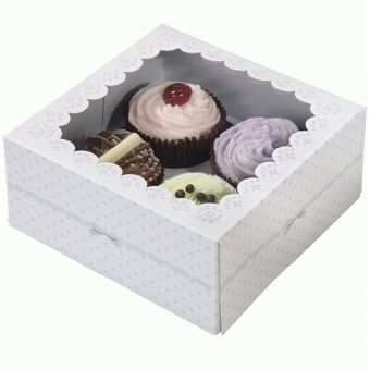 FRILLS & FROSTING CUPCAKE BOXES / 2