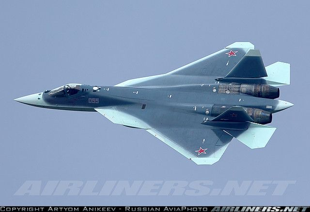 Sukhoi T-50 Russia - Air Force