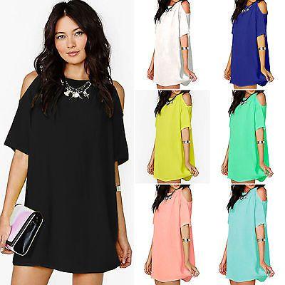 Women-Summer-Dress-Off-Shoulder-clothes-tops-shirts-clothing-Blouse-Vestido-Size