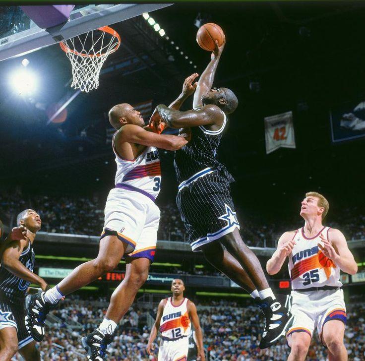 Shaq Slams Over Chuck, '94.