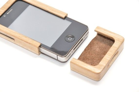 So cool! Wooden iphone case on etsy.