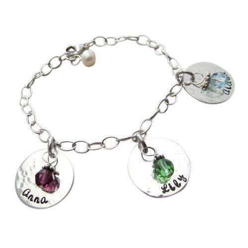 42 Best Birthstone Bracelets For Moms Images On Pinterest