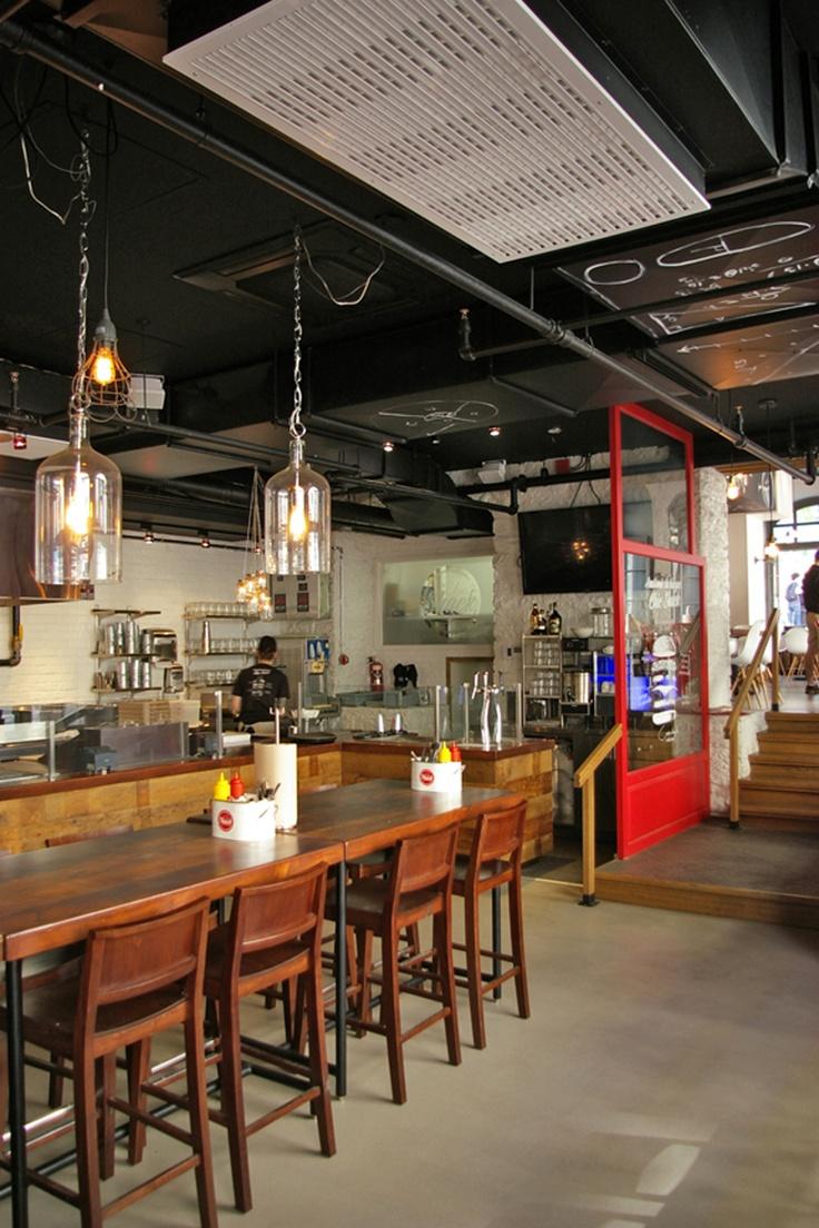 Lemaymichaud Chic Shack Qu 233 Bec Architecture Design Restaurant Eatery Hospitality